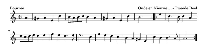 Bourrée - please update page (F5 key), if notes are not visible