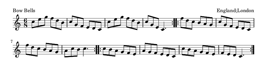 Bow Bells - please update page (F5 key), if notes are not visible