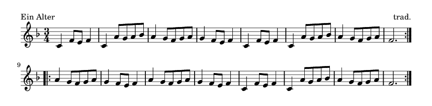 Ein Alter - please update page (F5 key), if notes are not visible