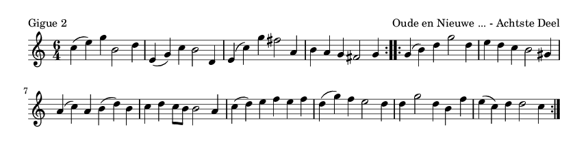 Gigue 2 - please update page (F5 key), if notes are not visible