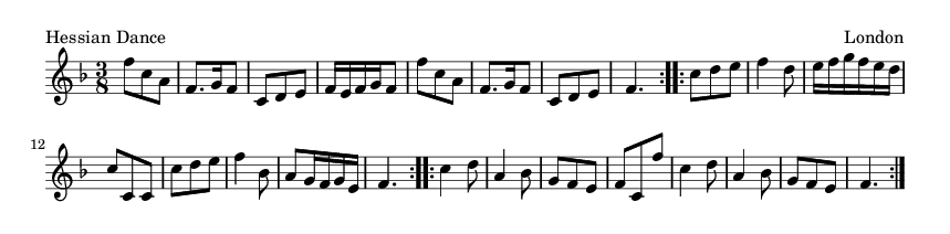 Hessian Dance - please update page (F5 key), if notes are not visible