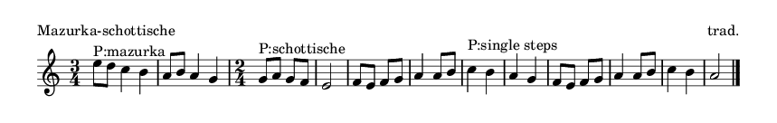 Mazurka-schottische - please update page (F5 key), if notes are not visible