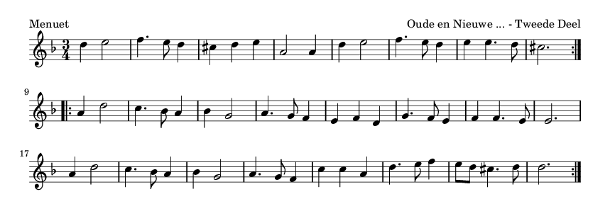 Menuet - please update page (F5 key), if notes are not visible