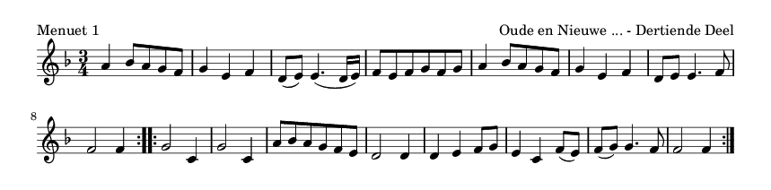 Menuet 1 - please update page (F5 key), if notes are not visible
