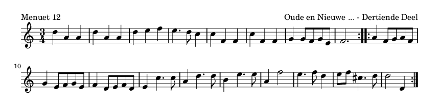 Menuet 12 - please update page (F5 key), if notes are not visible