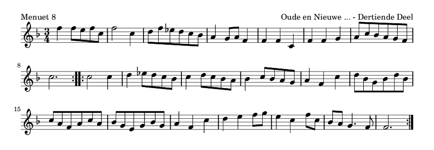 Menuet 8 - please update page (F5 key), if notes are not visible