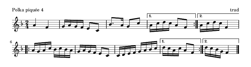 Polka piquée 4 - please update page (F5 key), if notes are not visible