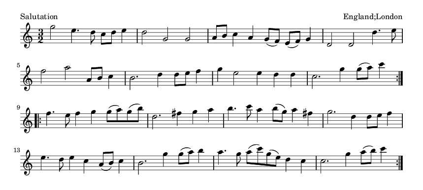 Salutation - please update page (F5 key), if notes are not visible