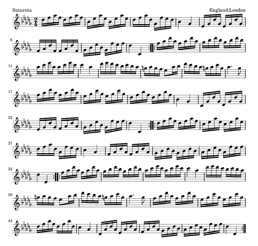 Saturnia - please update page (F5 key), if notes are not visible
