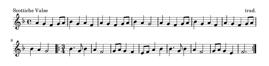 Scottiche Valse - please update page (F5 key), if notes are not visible