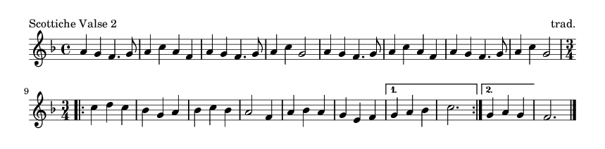 Scottiche Valse 2 - please update page (F5 key), if notes are not visible