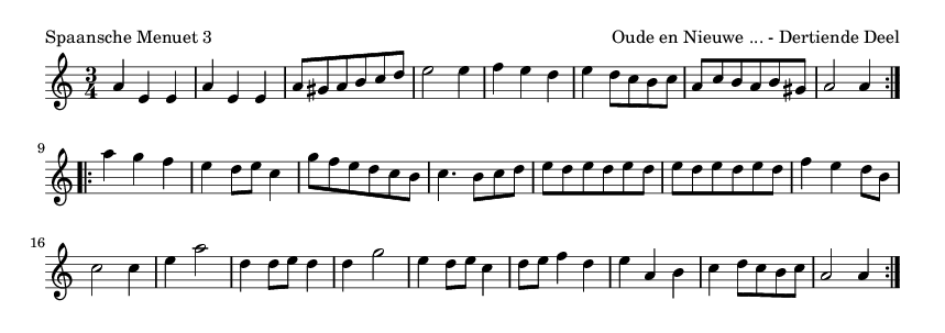 Spaansche Menuet 3 - please update page (F5 key), if notes are not visible