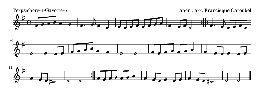 Terpsichore-1-Gavotte-6 - please update page (F5 key), if notes are not visible