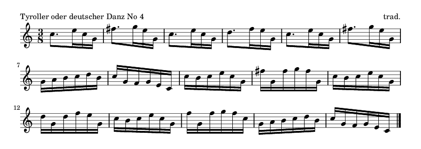 Tyroller oder deutscher Danz No 4 - please update page (F5 key), if notes are not visible