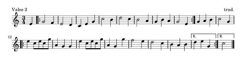 Valse 2 - please update page (F5 key), if notes are not visible
